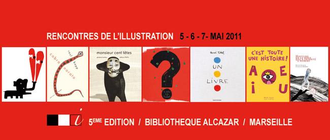 i rouge rencontres de l'illustration à Marseille du 5 au 7 mai 2011